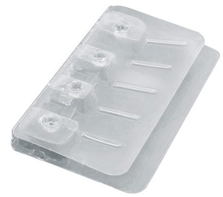 Шпатель пластиковый - утюжок